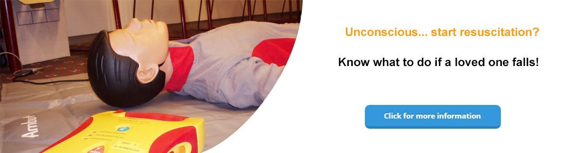 Unconscious… start resuscitation?