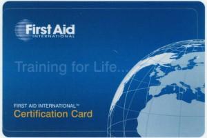 EHBO-certificaat-card